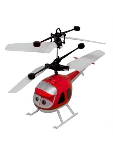 Smiley Smiley Sensörlü UÇan Helikopter Oyuncak Renkli